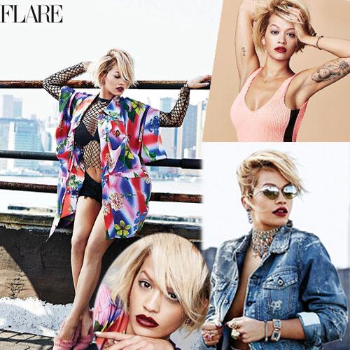 Hot shoot of Rita Ora , sexy shoot of rita ora,  fashion fashion tips,  fashion trends,  fashion accessories,  fashion trends 2014,  rita ora ,  high fashion magazine flare,  fashion magazine,  flare
