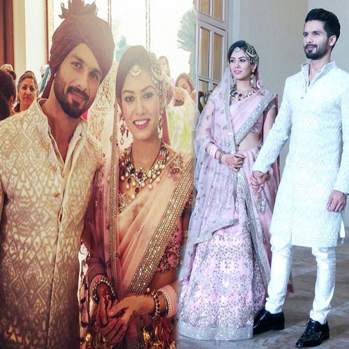 Shahid Kapoor and Mira Rajput's wedding dress , shahid kapoor and mira rajputs wedding dress,  shahid kapoor,  mira rajput,  bollywood news,  bollywood updates,  bollywood gossip,  ifairer