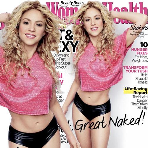 Shakira reveals her love for dance!!, shakira reveals her love for dance,  shakira reveals how she got her body back in the april 2014 issue of women's health magazine,  april 2014 issue of women's health magazine,  shakira reveals on her workout regime,  shakira's singles,   shakira single hips don't lie,  shakira son milan