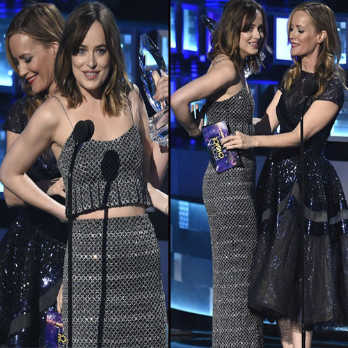 Shocking Dakota Johnson's dress breaks on the stage, shocking dakota johnsons dress breaks on the stage,  dakota johnson,  hollywood news,  hollywood gossip,  hollywood news and gossip,  ifairer