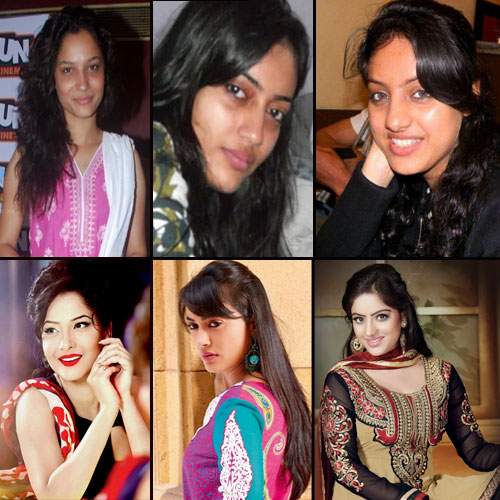 Shocking Faces of TV Bahus , shocking face of tv bahus,  television actresses without make-up,  tv actresses sans make-up,  tv bahus real face,  tv gossips,  tv celebs news,  ifairer