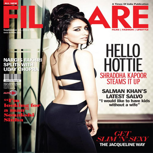 Shraddha's Hot looks on Filmfare, shraddhas hot looks on filmfare,  shraddha kapoor steams it up on filmfare,  shraddha kapoor,  bollywood news,  bollywood masala,  bollywood gossip,  latest bollywood news,   hot looks on magazine,  cover girl shraddha kapoor,  ifairer