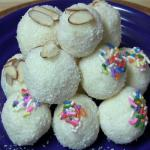 Recipe for coconut ladoo