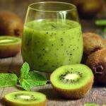 Recipe of Kiwi fruit shake