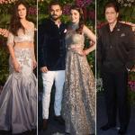 Virunshka's wedding reception: Who wore what