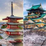 Most beautiful pagodas of the world