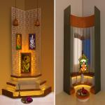 Right places for Pooja room in house according Vastu