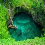 Magical swimming pool, you can visit this summer