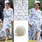 Meghan Markle trolled for wearing a dress like bed-sheet or curtain