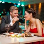 Set the mood for intimacy with candlelight dinner