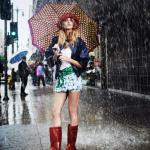Fashion accessories for rainy weather