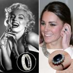 Most famous engagement rings in history and their story