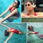 Urvashi Dholakia raise the temperature at Bali in bikini