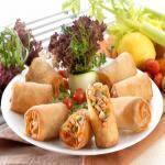Yummy vegetarian spring roll recipe