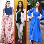 Dress like a Bollywood actress in new style statement