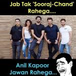 Anil Kapoor is ageing like fine wine, sharing memes