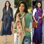 5 New type of summer scarf and ways to wear it