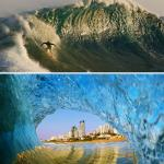 Amazing pictures of waves at their most beautiful and terrifying