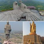 Biggest bird sculpture in the world from India, List of 10 tallest statues
