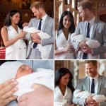 Meghan Markle and Prince Harry's son unseen pics