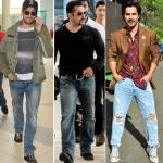 Stylish ways to wear a basic pair of blue jeans for men