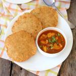 Famous street food bedmi puri recipe