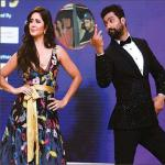 Katrina Kaif and Vicky Kaushal spotted together on a dinner date