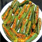 Tawa bhindi fry recipe