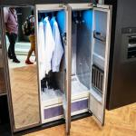 Samsung unveiled the AirDresser that refreshes and sanitizes clothes without washing