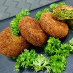 Spinach and Green Peas Cutlet Recipe