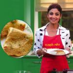 Shilpa Shetty share tasty oats chilla recipe