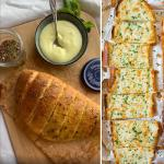 Recipe: Make garlic bread at home