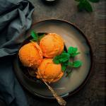 Recipe of mango ice-cream