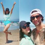 Sunny Leone chilling on a California beach, see in pics