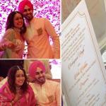 Neha Kakkar and Rohanpreet Singh`s wedding invitation leaked