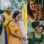 Neha Kakkar-Rohanpreet Singh`s 10 dreamy pics from haldi and mehendi ceremony out