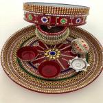 4 Easy ways to decorate Karwa Chauth pooja thali