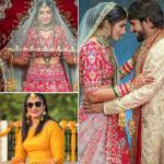Wrestling couple Sangeeta Phogat and Bajrang Punia tie the knot, see wedding album