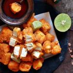Punjabi style paneer pakora recipe