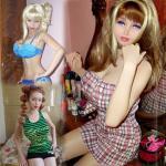 Again a Human barbie...