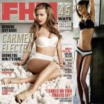 Carmen Electra oldest cover girl On FHM!