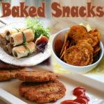 Healthy baked Snacks