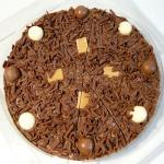 Mouthwatering Chocolate Pizza