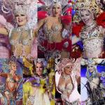 QUEEN of carnival of santa cruz de tenerife