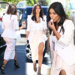 Sexy Cleavage of Kim Kardashian