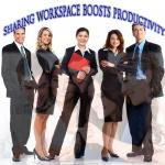 Sharing workspace boosts productivity