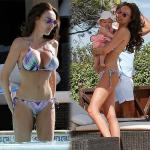 Tamara sizzles in post-pregnancy body