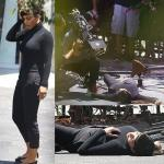 Why Kim Kardashian FAINTS down?