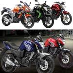 Yamaha launch Fazer, FZ and FZ-S in three new colours
