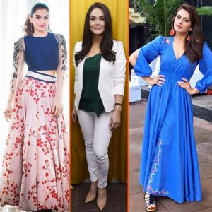7 Style and Fashion Statements:How to dress like a Bollywood actress